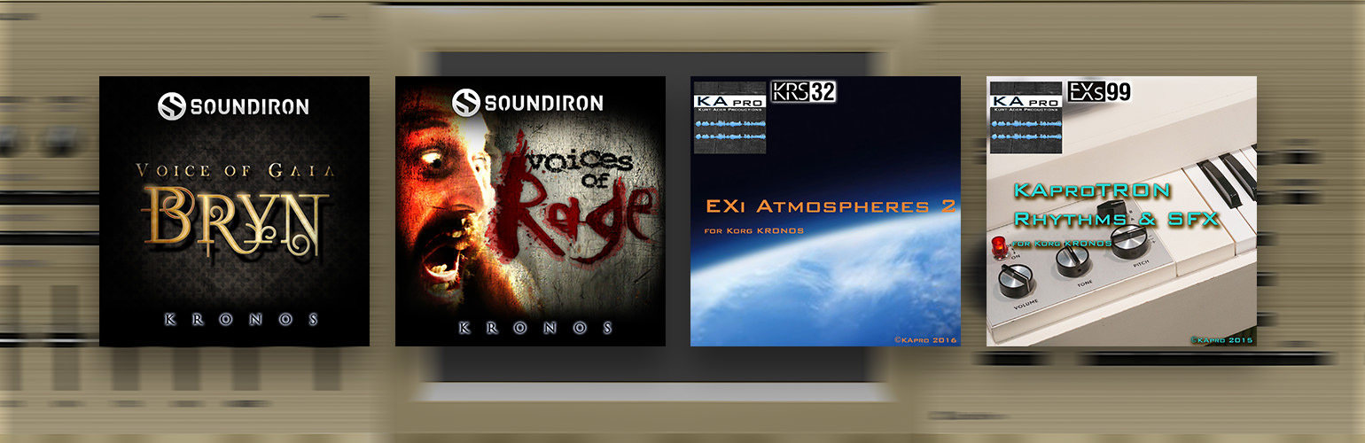 News | New KRONOS Sound Libraries: two new libraries from Soundiron