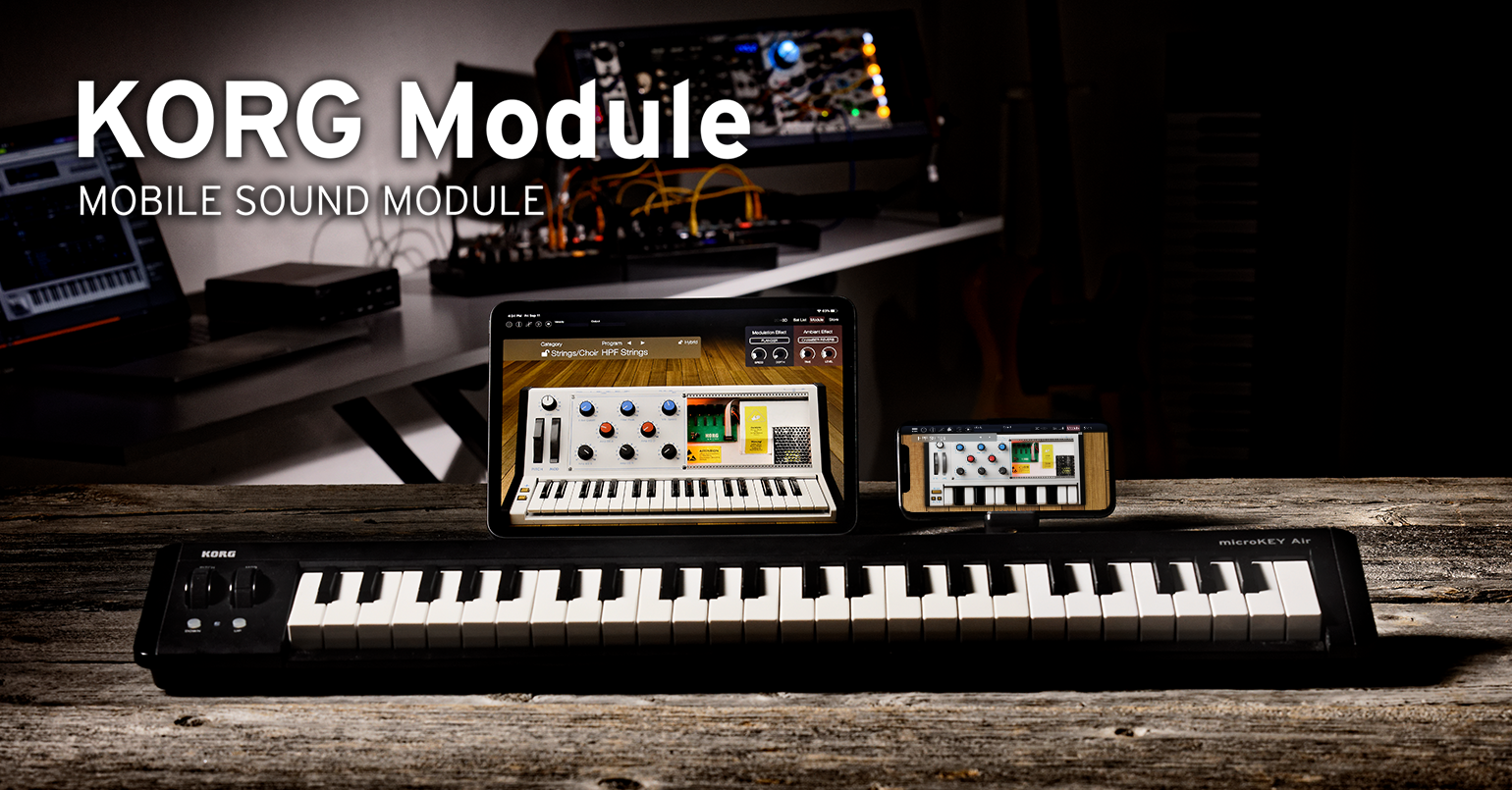 News Version 4 Of Korg Module Is Now Available With A New Hybrid Digital Synthesizer And Auv3 Support Limited Time Sale Korg Usa