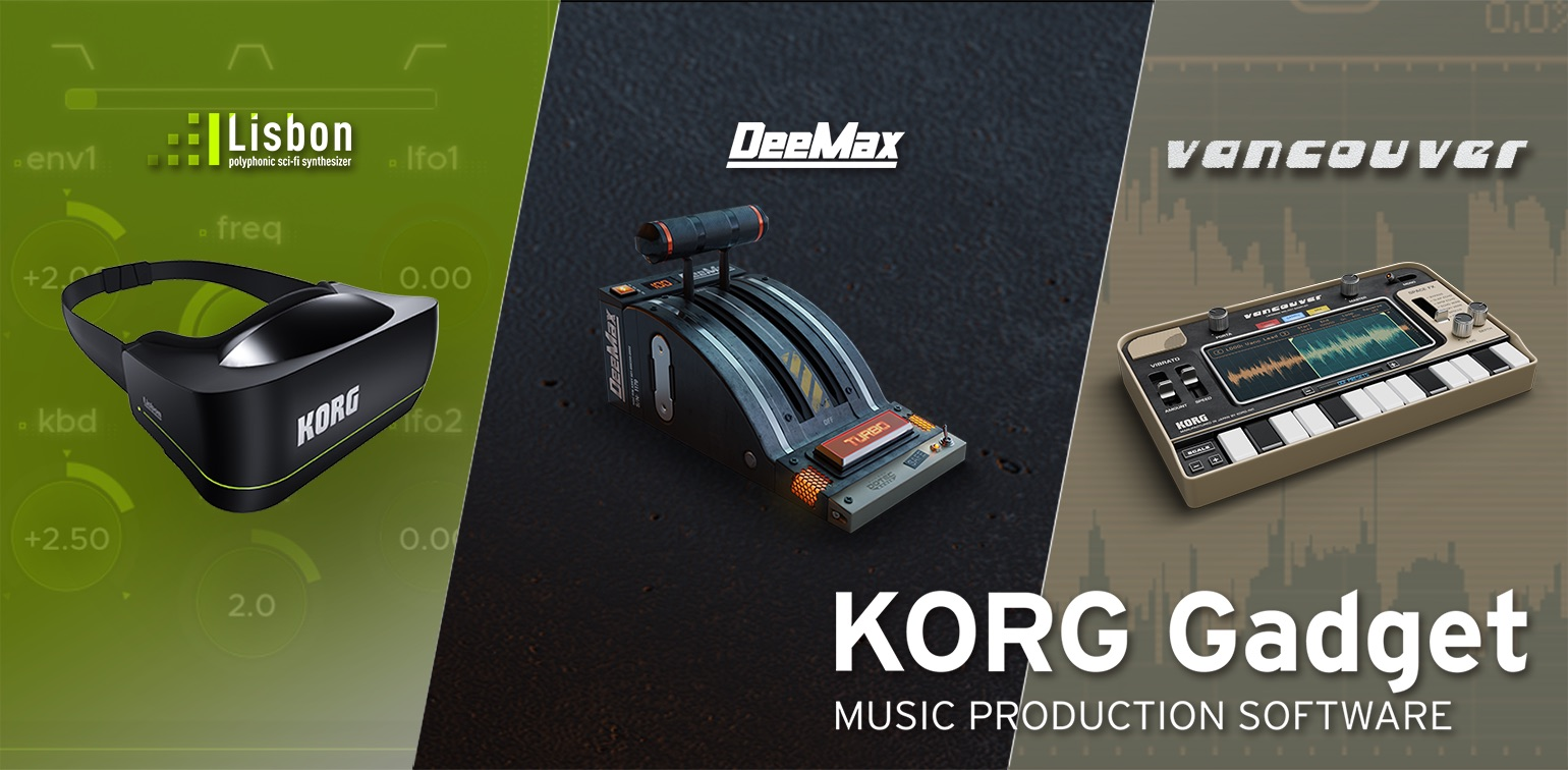 new gadgets updates news major update for korg gadget for mac ios the new 22700