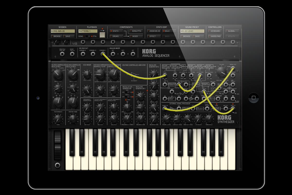 iMS-20 for iPad | KORG (USA)
