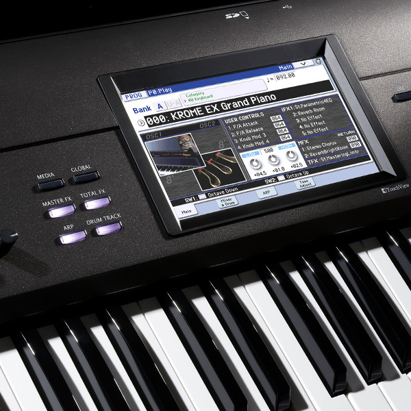 KROME EX - MUSIC WORKSTATION | KORG (USA)