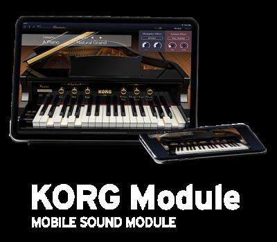 KORG Module - MOBILE SOUND MODULE | KORG (USA)