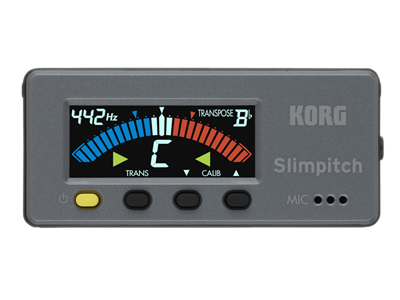 slimpitch chromatic tuner contact microphone korg usa. Black Bedroom Furniture Sets. Home Design Ideas