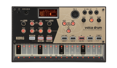 volca drum - DIGITAL PERCUSSION SYNTHESIZER | KORG (USA)