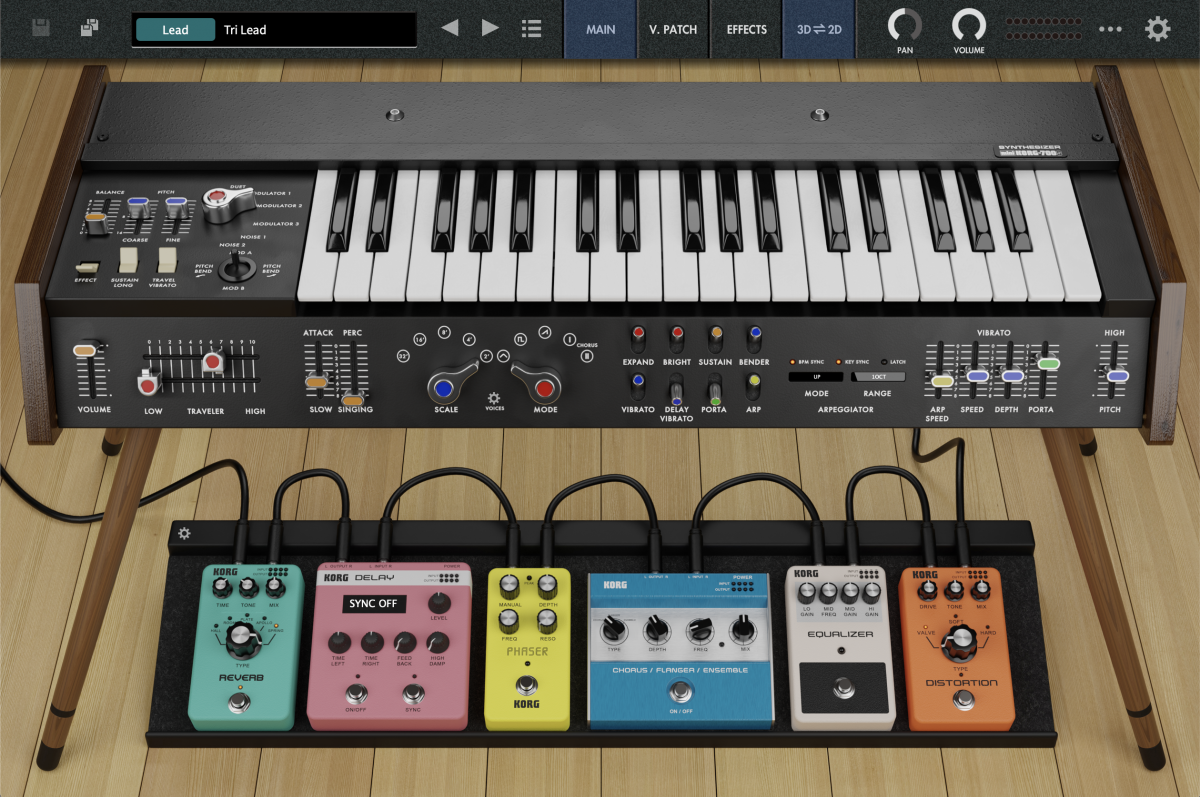 KORG Software MiniKORG 700s 1.0.1 Mac 破解版 单声道合成器