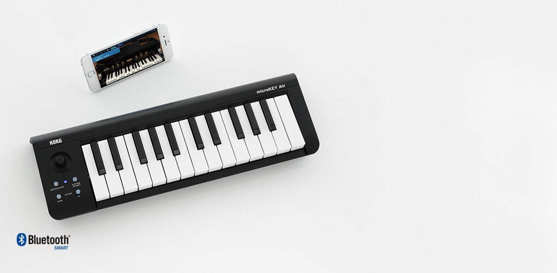 microKEY Air - BLUETOOTH MIDI KEYBOARD | KORG (USA)