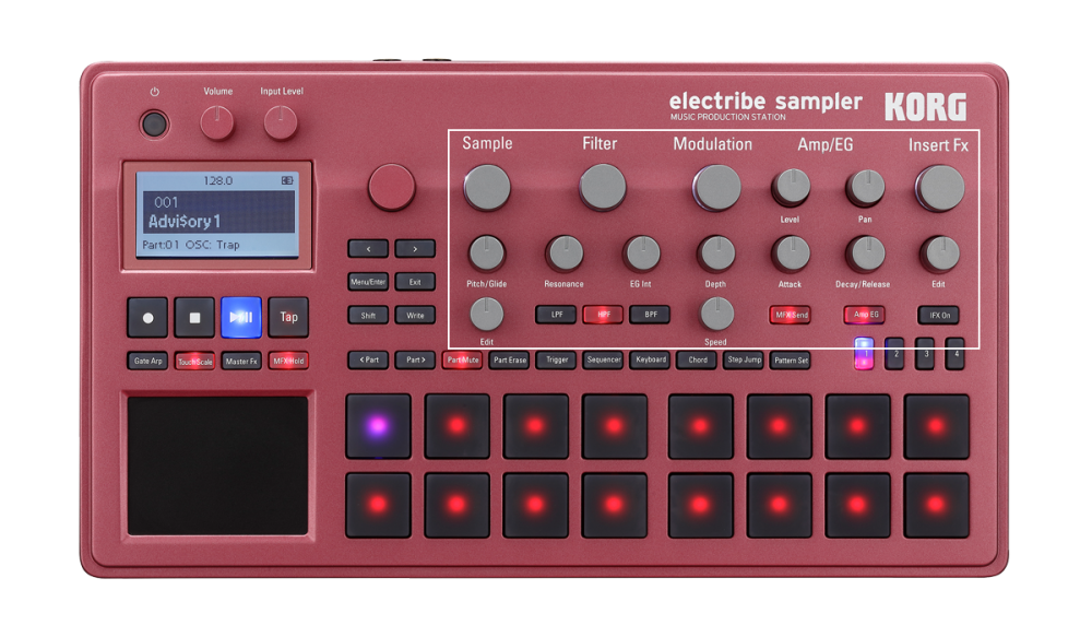 Workflow 1   electribe sampler - MUSIC PRODUCTION STATION