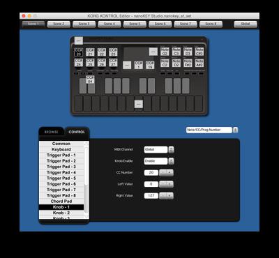 nanoKEY Studio - MOBILE MIDI KEYBOARD | KORG (USA)