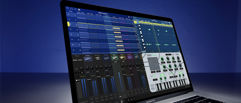 KORG Gadget 2 - MUSIC PRODUCTION SOFTWARE | KORG (USA)