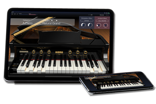 nanoKEY Studio - MOBILE MIDI KEYBOARD   KORG (USA)
