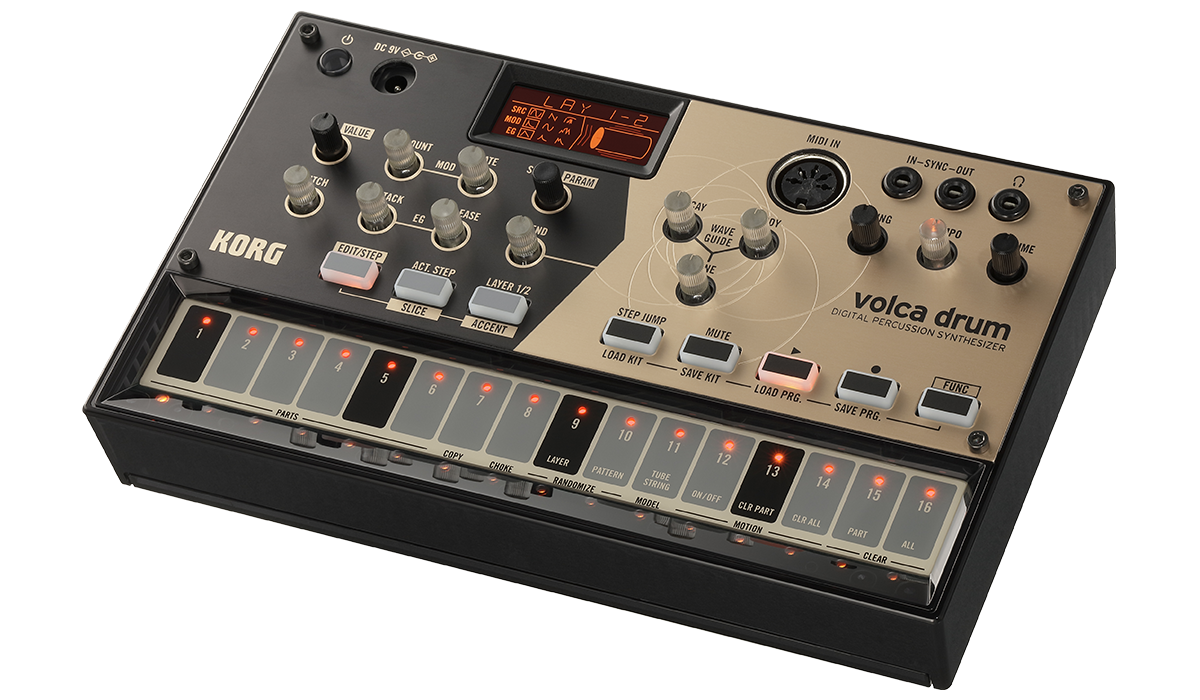 volca drum - DIGITAL PERCUSSION SYNTHESIZER   KORG (USA)