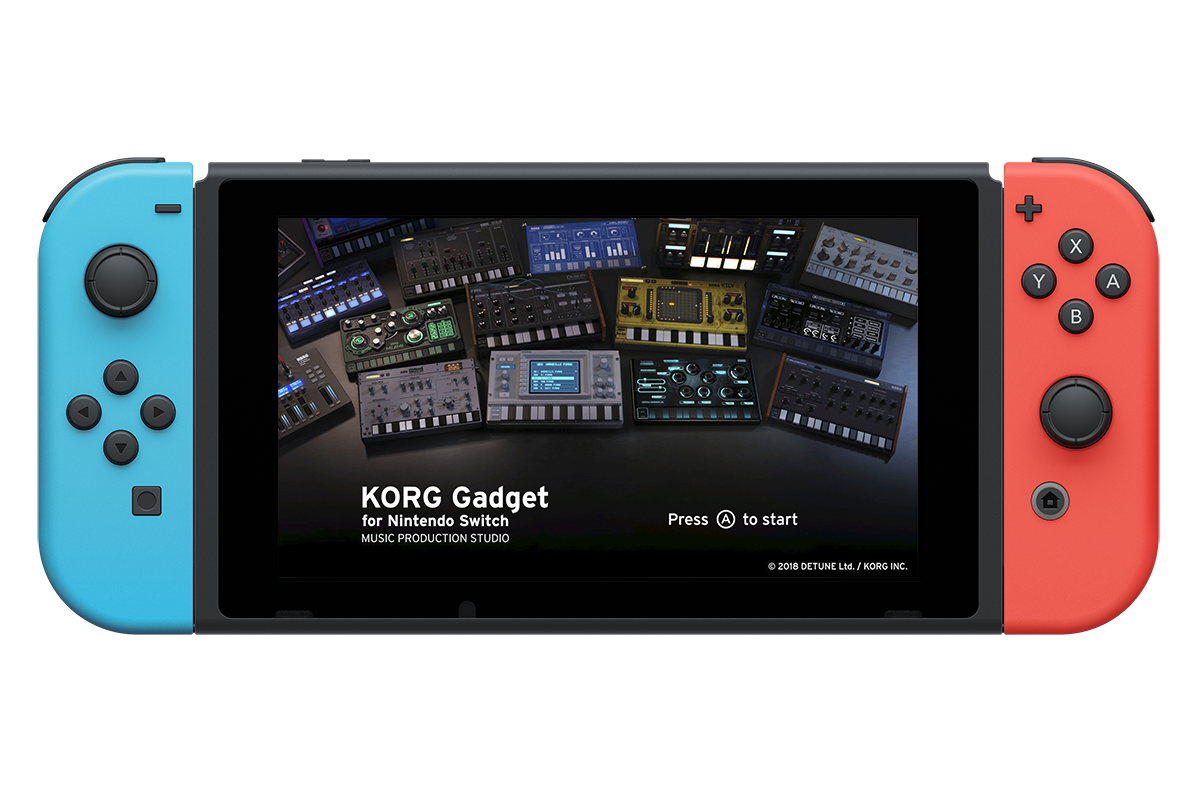 KORG Gadget for Nintendo Switch - MUSIC PRODUCTION STUDIO | KORG (USA)