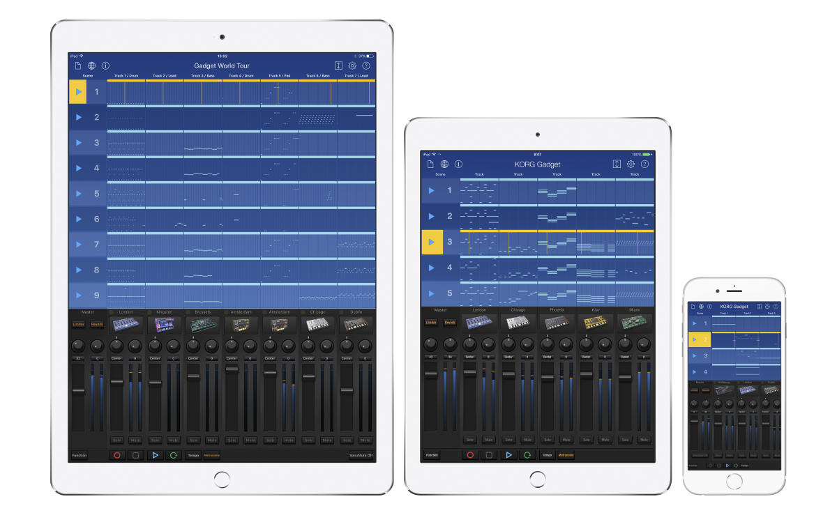 For Ios Korg Gadget Music Production Software Korg Usa