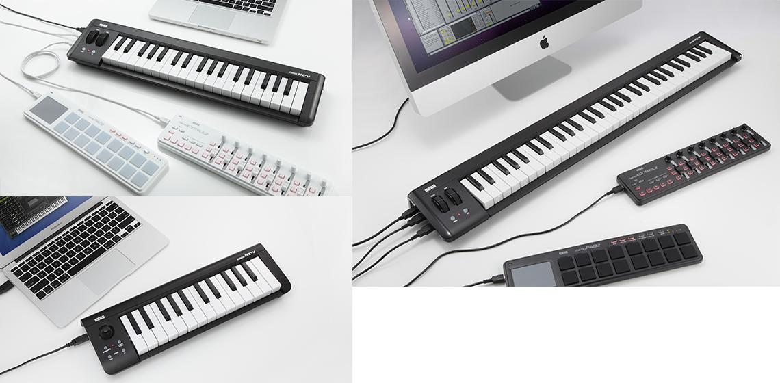 microKEY - USB POWERED KEYBOARD | KORG (USA)