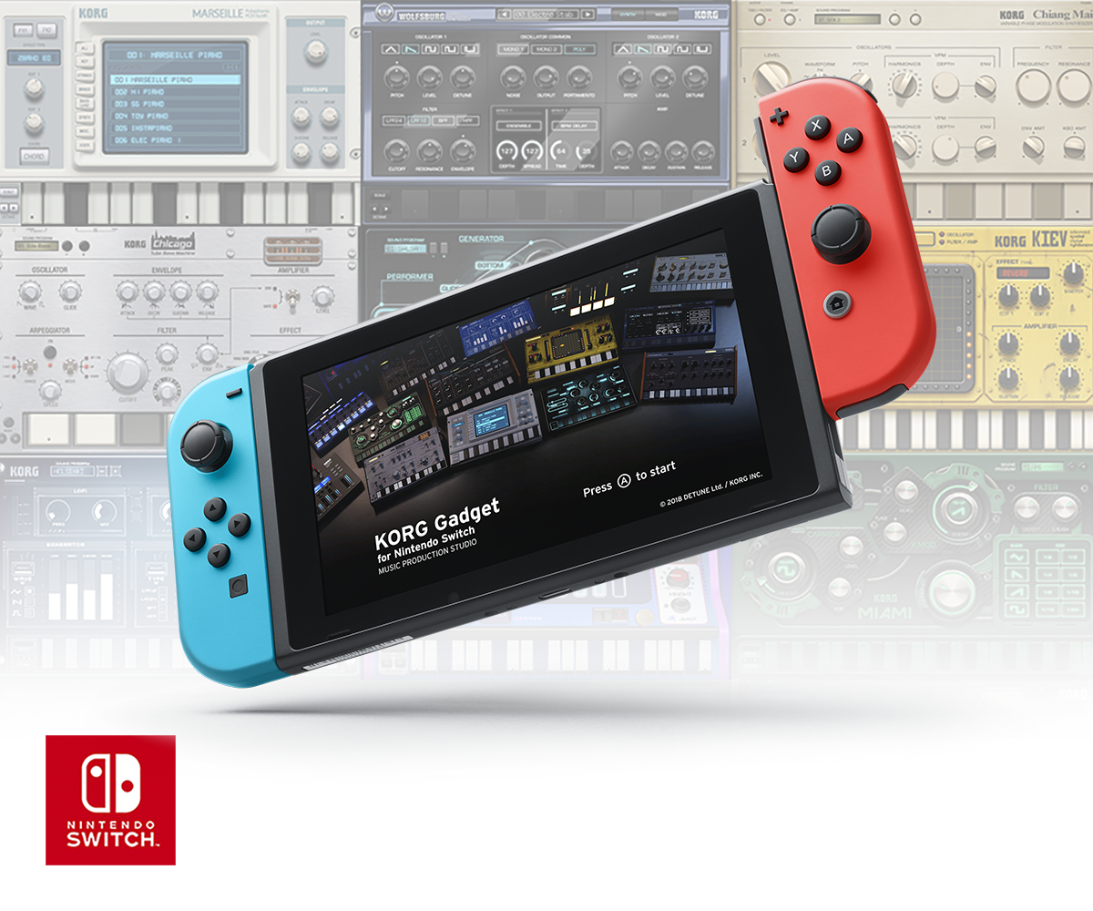 KORG Gadget for Nintendo Switch - MUSIC PRODUCTION STUDIO