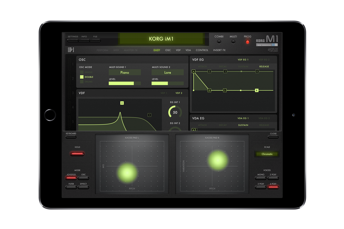 KORG iM1 for iPad - MOBILE MUSIC WORKSTATION | KORG (USA)