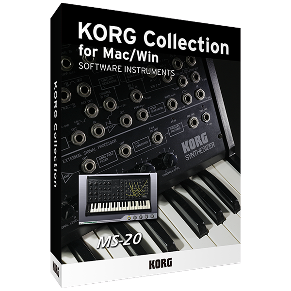 Lineup | KORG Collection for Mac/Win - SOFTWARE INSTRUMENTS | KORG (USA)