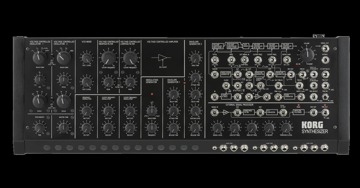 Ms 20m Kit Sq 1 Monophonic Synthesizer Module Kit