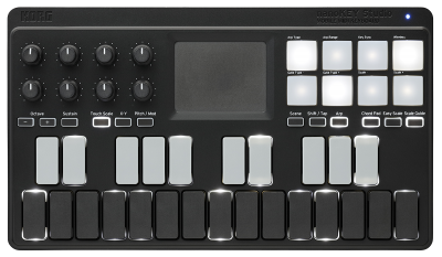 nanoKEY Studio - MOBILE MIDI KEYBOARD | KORG (USA)