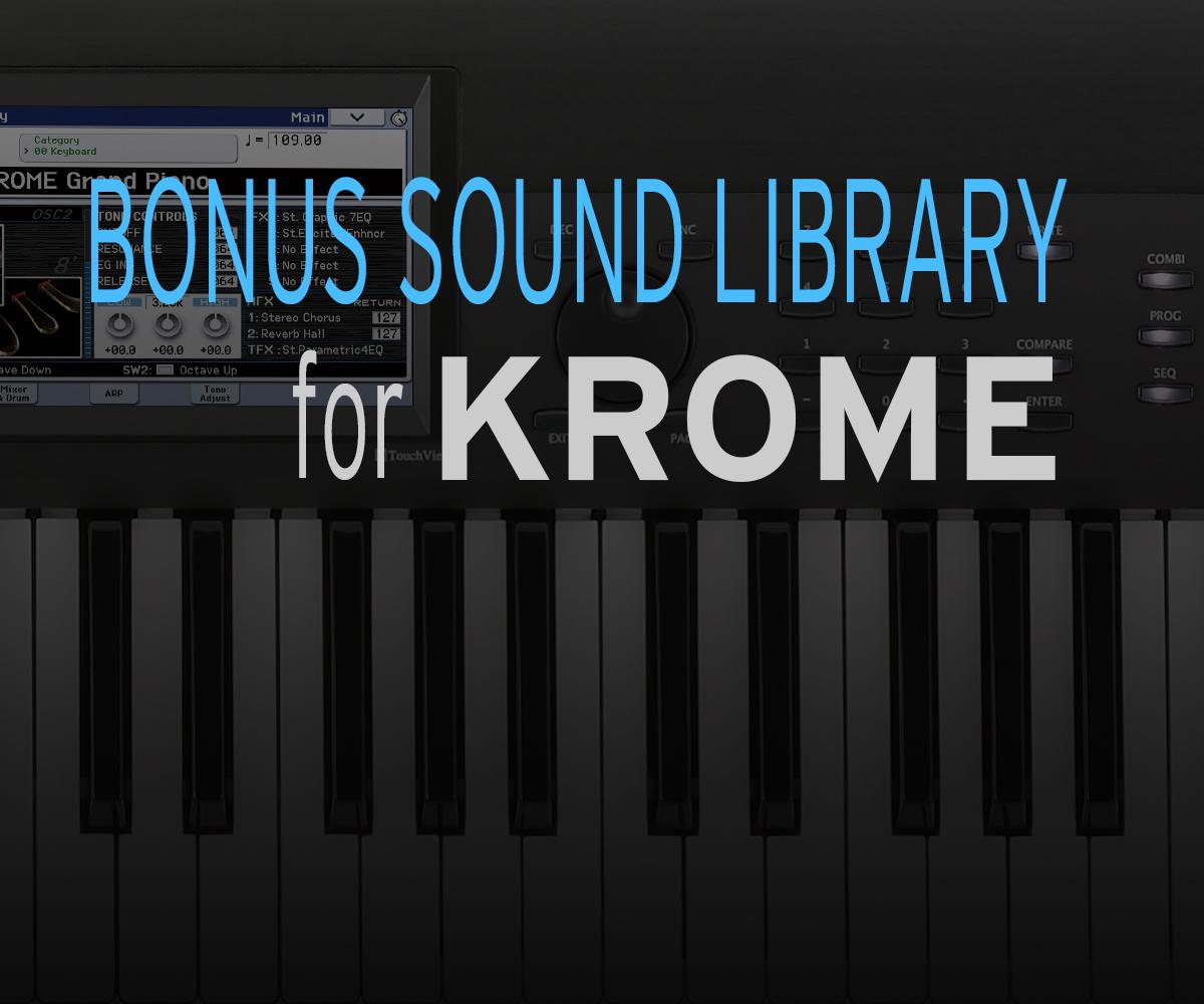 Bonus Program | KROME - MUSIC WORKSTATION | KORG