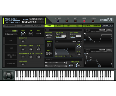 KORG Collection for Mac/Win - SOFTWARE INSTRUMENTS | KORG (USA)