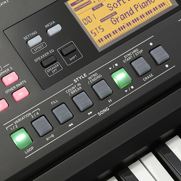 ek 50 entertainer keyboard korg usa. Black Bedroom Furniture Sets. Home Design Ideas