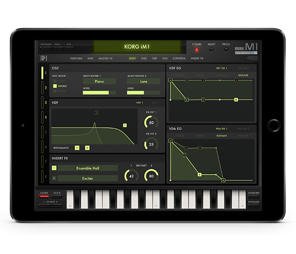 KORG iM1 for iPad