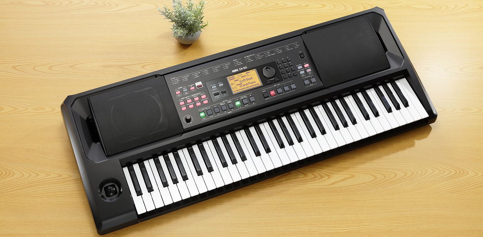 EK-50 - ENTERTAINER KEYBOARD | KORG (South Africa)