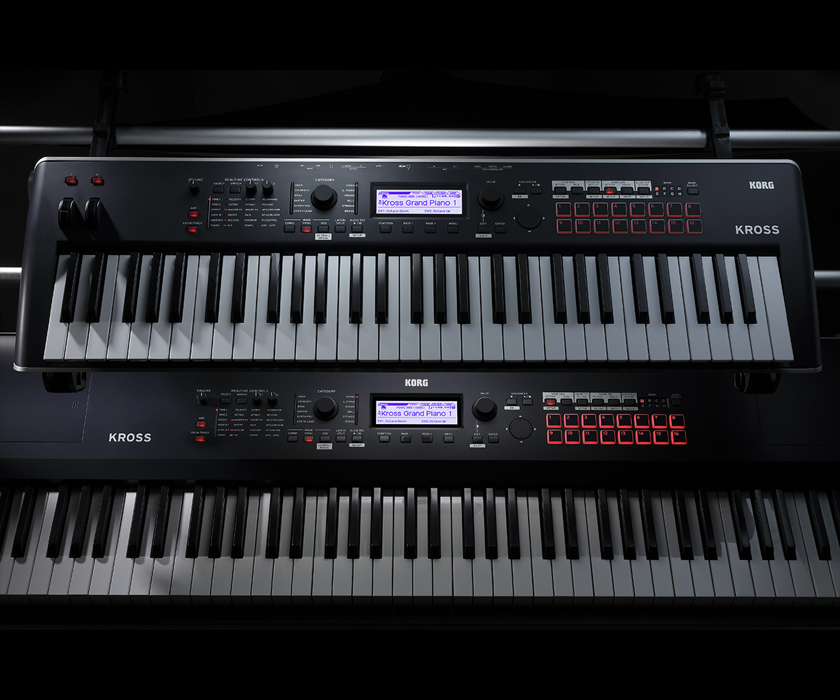 KROSS - SYNTHESIZER WORKSTATION | KORG (South Africa)